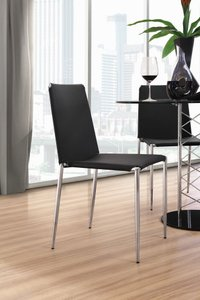 Alex Dining Chair Black (Set of 4 Units)