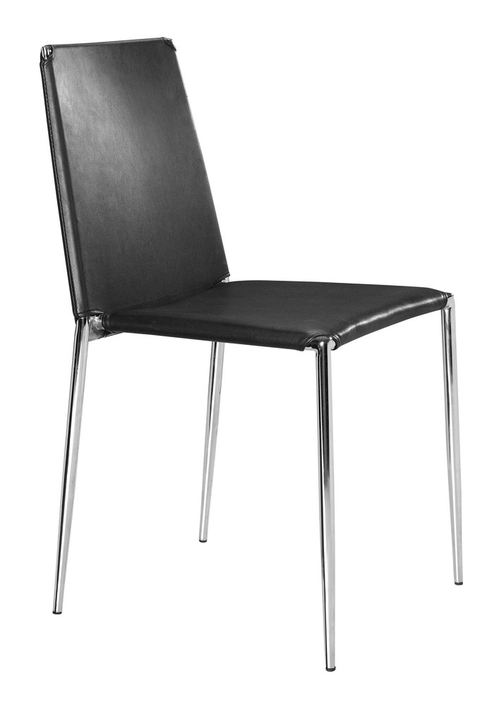 Alex Dining Chair Black ( Set of 4 Units )