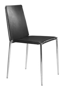 Alex Dining Chair Black (Set of 4)