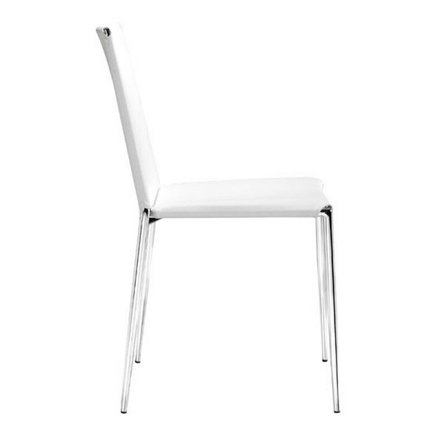 Alex Dining Chair White (Set of 4)