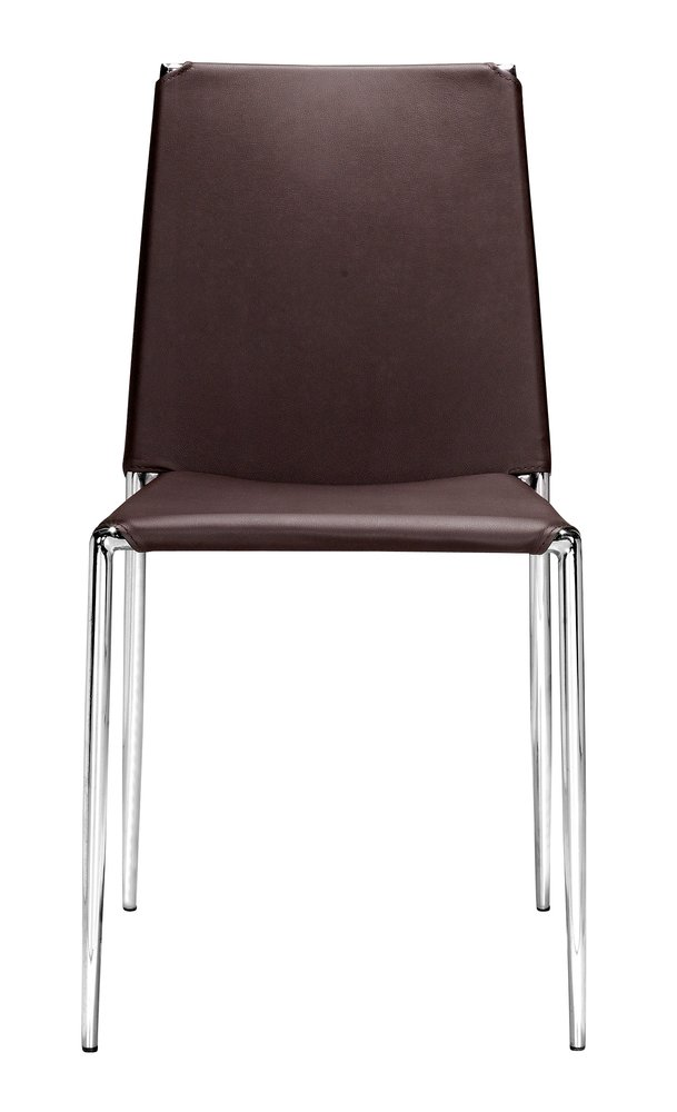 Alex Dining Chair Espresso ( Set of 4 Units )