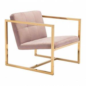 Alt Arm Chair Pink Velvet
