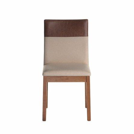 Duke Dining Chair Dark Beige/Brown
