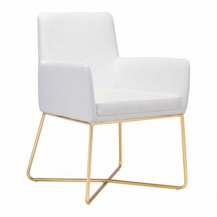 Honoria Arm Chair White
