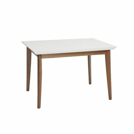 """Lillian 45.66"""" Dining Table White"""