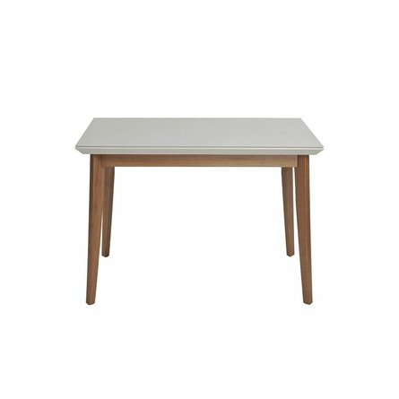 """Lillian 45.66"""" Dining Table Off White"""