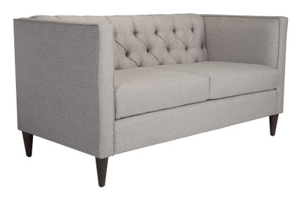 Grant Loveseat Light Gray