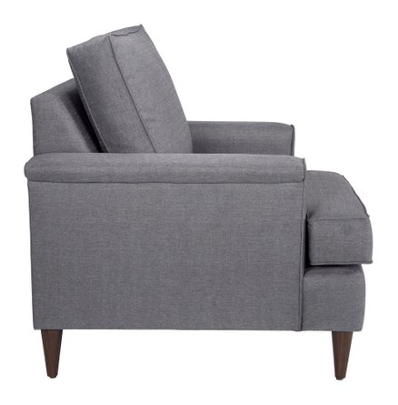 Campbell Arm Chair Dark Gray