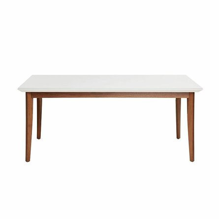 "Lillian 62.99"" Dining Table White"