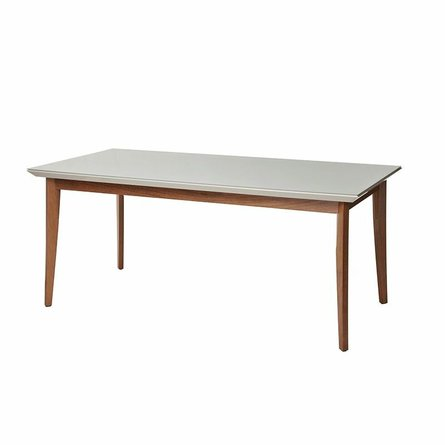 """Lillian 62.99"""" Dining Table Off White"""