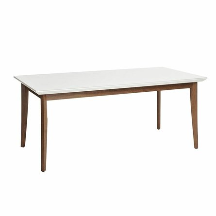 """Lillian 70.86"""" Dining Table White"""