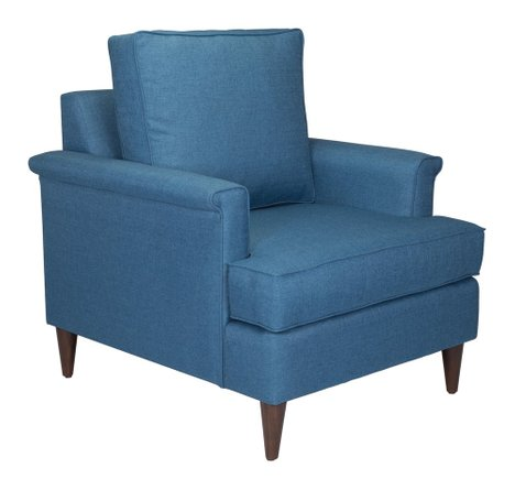 Campbell Arm Chair Blue