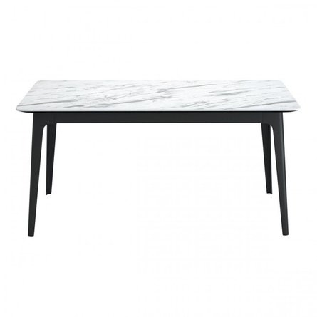 Caden Dining Table Stone And Black