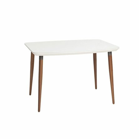 """Charles 62.99"""" Dining Table White"""