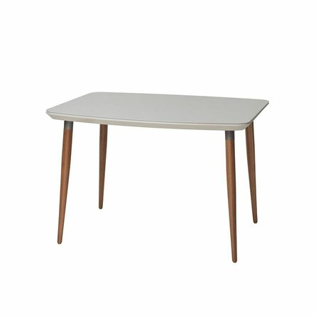 """Charles 62.99"""" Dining Table Off White"""