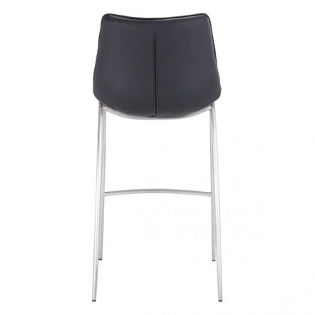 Magnus Bar Stool Black (Set of 2)