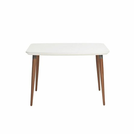 "Charles 45.27"" Dining Table White"