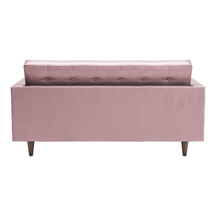 Puget Sofa Pink Velvet