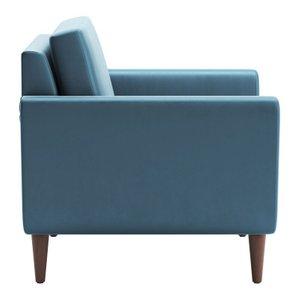 Mirabelle Arm Chair Teal Velvet