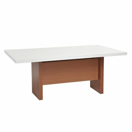 """Dover 82.67"""" Dining Table White"""