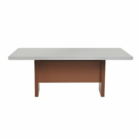 """Dover 82.67"""" Dining Table Off White"""