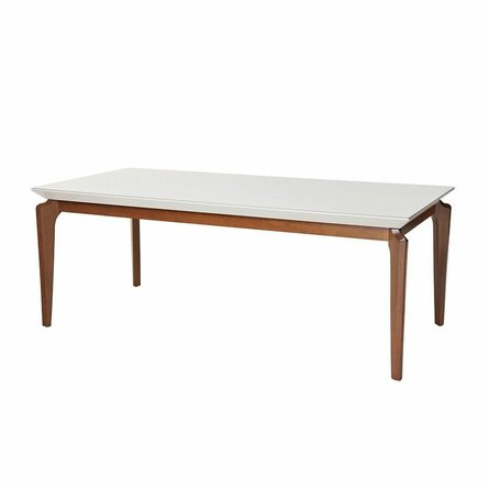 "Payson 72.04"" Dining Table White"