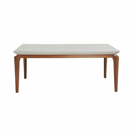 """Payson 72.04"""" Dining Table Off White"""