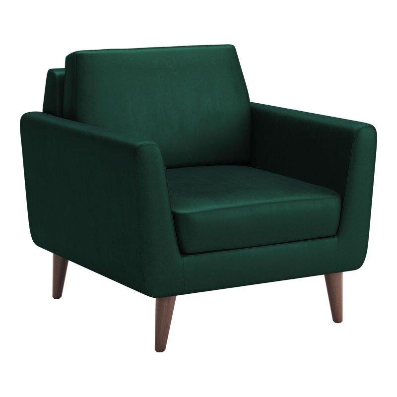Rent In San Francisco Bay Area: Rent Mirabelle Arm Chair Evergreen Velvet