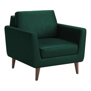 Mirabelle Arm Chair Evergreen Velvet