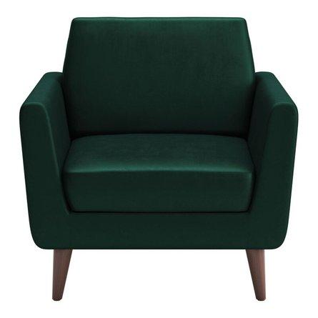Mirabelle Arm Chair Evergreen Velvet