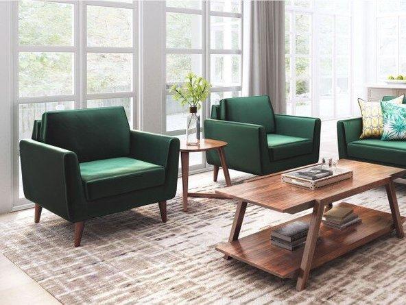Mirabelle Arm Chair Green