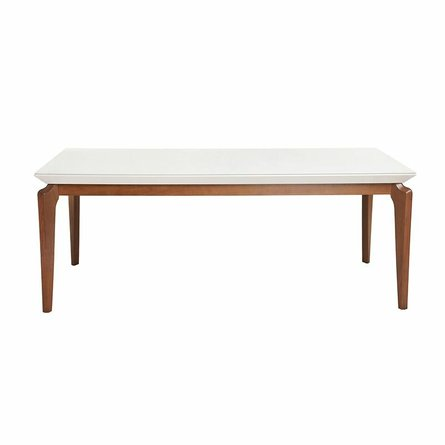 """Payson 82.67"""" Dining Table White"""