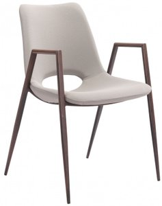 Desi Dining Chair Beige (Set of 2)