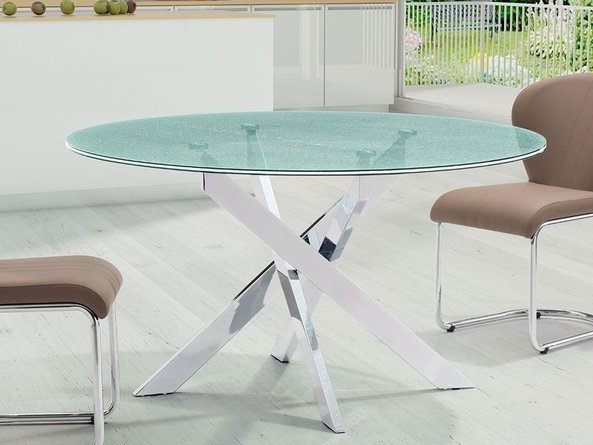 Stance Dining Table Crackled