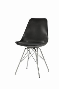 Lowry Contemporary Dining Chair Black (Set Of 2)
