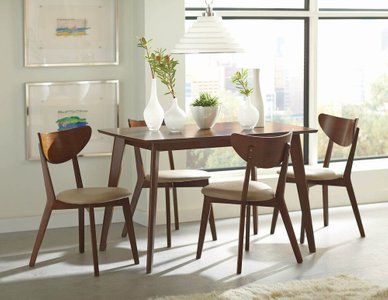Kersey Retro Dining Chair Chestnut (Set Of 2)