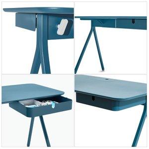Slate Blue Key Desk
