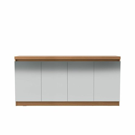 Viennese 62.99 Cabinet With Mirrors Maple Cream