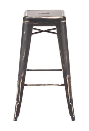 Marius Barstool Black Gold (Set of 2)
