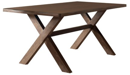 Alston Rustic Dining Table Knotty Nutmeg