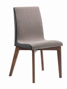 Redbridge Modern Dining Chair Natural Walnut (Set Of 2)