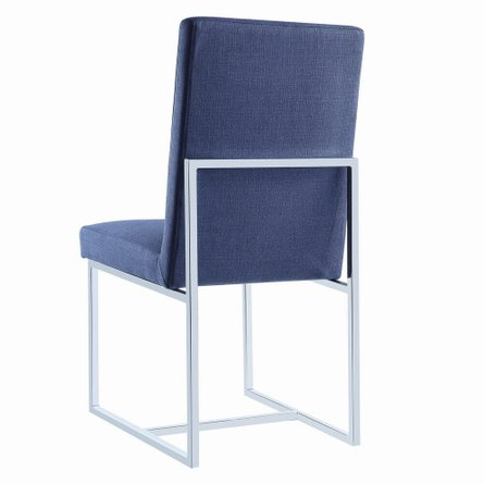 Jackson Modern Dining Chair Blue (Set Of 2)
