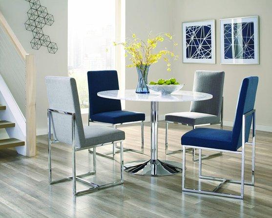 Jackson Modern Dining Chair Blue (Set Of 2)