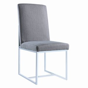 Jackson Modern Dining Chair Gray (Set Of 2)