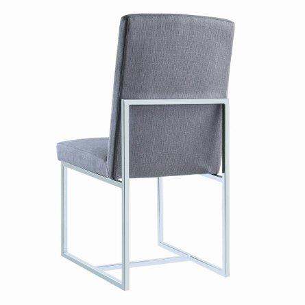 Jackson Modern Dining Chair Gray (Set Of 2)