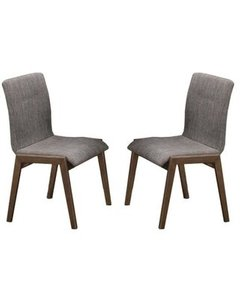 Mcbride Retro Dining Chair Gray (Set Of 2)