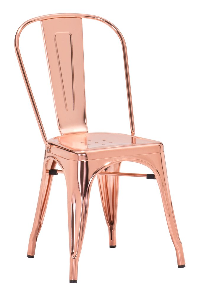 Elio Dining Chair Rose Gold ( Set of 2 Units )