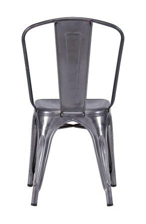 Elio Dining Chair Gunmetal (Set of 2 Units)