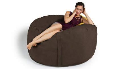 Metro Saxx 5' Bean Bag Chocolate