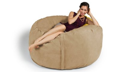 Metro Saxx 5' Bean Bag Camel